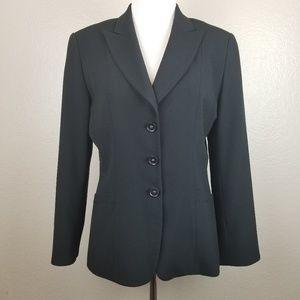 T Tahari Black Career Blazer Jacket